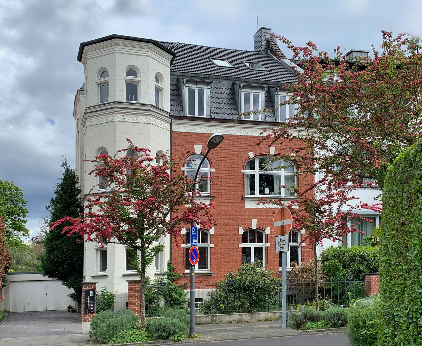 Ansicht der Vincenz-Statz-Straße 8